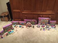 Huge Lego friends bundle all boxed and including instructions. Lego friends playmat included