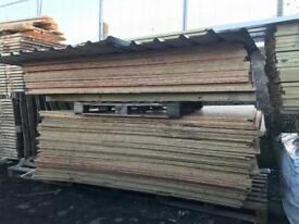 🍄 Recycled OSB Boards 8by X 4 8Ft Long!
