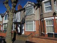 Earlsdon Avenue North Spacious 4 Bedroomed Property in a Great Location Fully Furnished