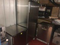 Industrial Fridge and freezer 2 weeks old .