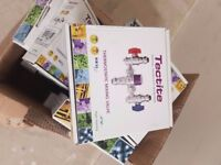 Pegler Thermostatic mixer vales - Brand New unopened. 14 x 22mm TMV's and 2 x 15mm TMV's. .