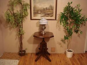 """Antique """"Victorian"""" Accent Table"""