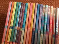 Set of 20 Rainbow Magic Fairy books by Daisy Meadows