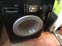Black Bosch Washing Machine 8kg......Mint free delivery