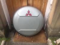 Mitsubishi spare wheel cover