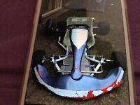 100cc 2 stroke single engine go-kart