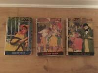 3 old vintage books