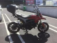 Ducati hyperstrada low mileage