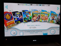 Nintendo Wii with 258 Games on Hard Drive - No more lost/scratched/snapped Discs! So easy to use!