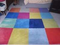 superb quality large 100% wool soft thick rug