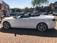 Audi A5 S line convertible sline white black roof