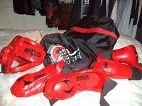Tae Kwon Do sparring kit & bag