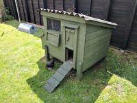 Wooden Chicken Coop Hen House