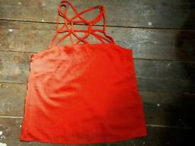 H&M EUR36 Red Sexy Top