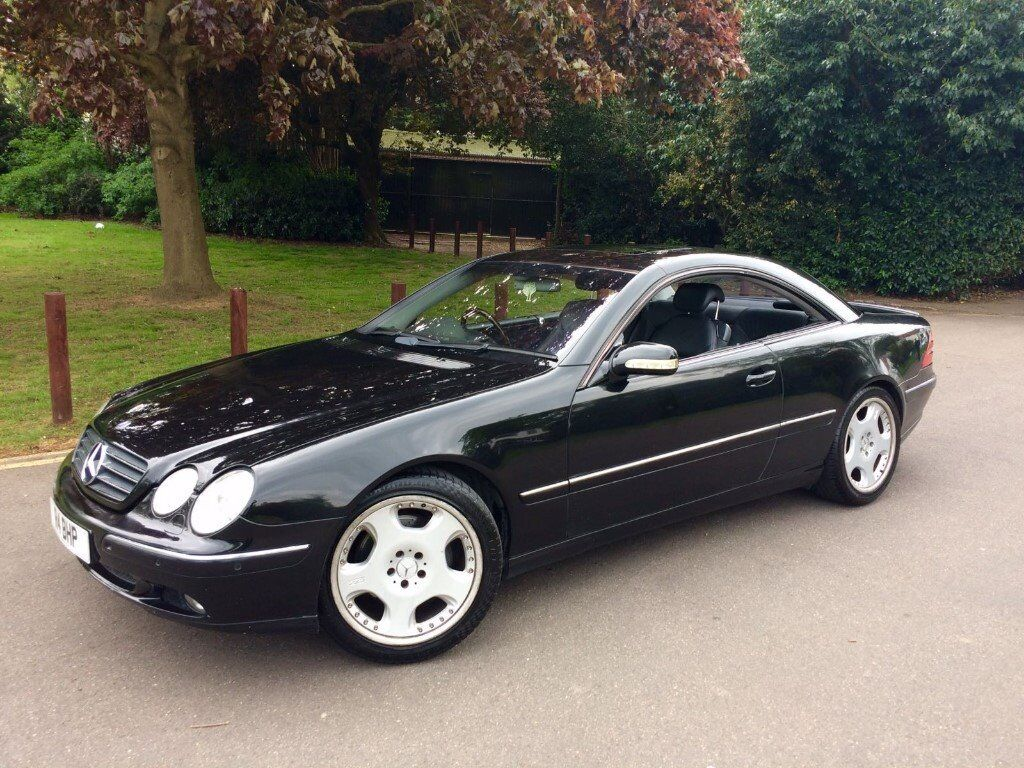 mercedes benz cl500 cl 500 55 badge big spec long mot runs and drives great bargain in. Black Bedroom Furniture Sets. Home Design Ideas