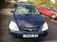 HONDA CIVIC 1.6 PETROL