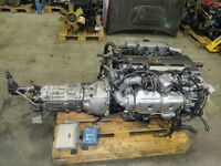94-98 Toyota Supra 2JZ GTE Twin Turbo Engine 6 Speed Getrag Transmission BOX