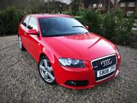 2008 Audi A3 2.0 TDI S Line S Tronic[Paddle-Shift]ONLY 37k Miles/Low Mileage!/Sunroof/Heated Leather