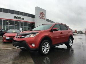 2015 Toyota RAV4 Limited/4CYL ALL WHEEL DRIVE
