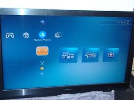 """Pioneer 37"""" Lcd Freeview TV + Remote Control ( For Wall Mount ) KRL-37V"""