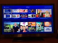 Sony Bravia 37in side lit LED TV with remote