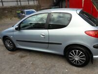 Peugeot 206 1.1 petrol in good conditions 63000 miles