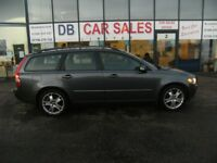 DIESEL !!! 2007 56 VOLVO V50 2.0 D SE 5D 135 BHP **** GUARANTEED FINANCE **** PART EX WELCOME
