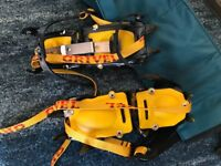 Grivel Adjustable Crampons and carry bag