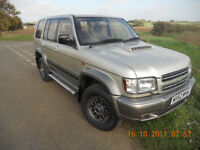 ISUZU TROOPER CITATION 3.0 LTR TURBO DIESEL, 5 SEATS, MANUAL.