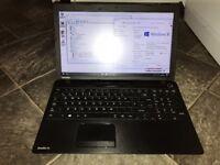 Windows 10 Toshiba c50 intel i3 quad core laptop good spec sale or swap for Xbox one s bundle