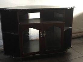 Corner Maghogany Unit for sale - Like New