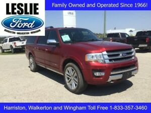 2016 Ford Expedition Max Platinum | 4X4 | One Owner | Navigation