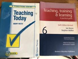 Teaching text books further education