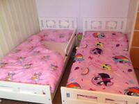 Ikea kritter child's bed x2