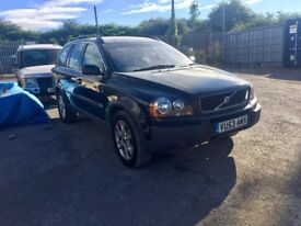 VOLVO XC90 D5 2.4D 53 2004 7 seater jeep automatic