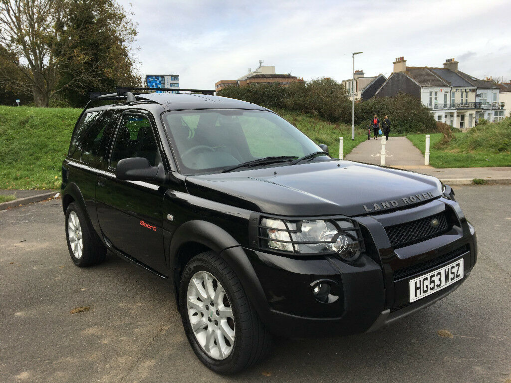 2003 land rover freelander td4 sport h b removable hardtop f s h long mot in plymouth. Black Bedroom Furniture Sets. Home Design Ideas