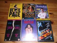 6 ADULT DVDS