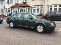 Lovely 2002 1.6 VW Bora, 66k Only, 1 Yrs MOT, Air Con, CD, Excellent Condition