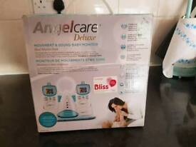 anglecare baby monitor deluxe