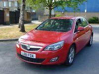 2011 Vauxhall Astra 2.0 CDTi ecoFLEX 16v SRi (s/s) 5door Diesel £30 full year tax Red 12 Months MOT