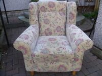 Armchair by SOFA SO GOOD-VGC-can maybe drop off