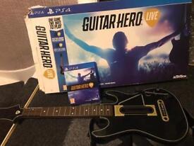 Guitar hero live ps4 boxed