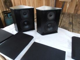 TEAC LS 5.1 ATMOS SPEAKERS 100 WATTS 6 OHM.