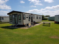 Luxury 6 Berth Caravan for Hire with Sky TV & Free WI-FI At Skipsea Sands