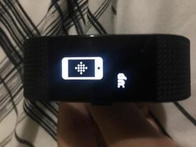 Fitbit Charge 2 Gunmetal Large *NEW*