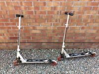 Royce union foldable scooters