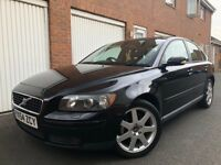 2004 54 Volvo S40 1.8 Petrol Full Mot+FSH+12 Stamps+Leather not v50 d5 Focus a4 passat