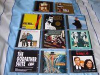 Film Soundtrack CD's (11 in total) Original Soundtrack Albums