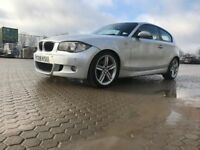 2008│BMW 1 Series 2.0 118d M Sport 3dr│Full Service History│Recently Fully Serviced│Folding Mirrors