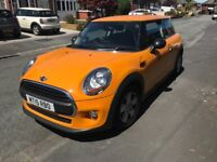 Stunning 2015 mini one 23k one owner volcanic orange.